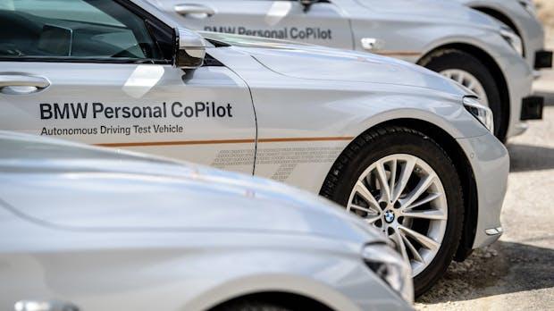 BMW eröffnet Campus für autonomes Fahren in München