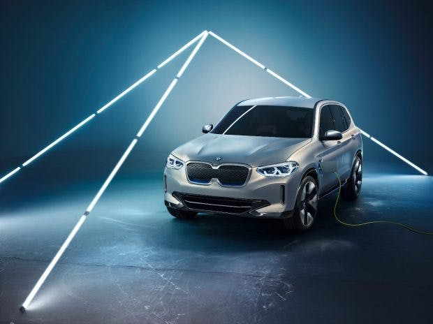 BMW iX3. (Bild: BMW Group)