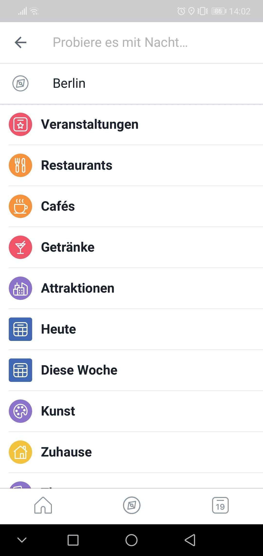 (Screenshot: Facebook Local/t3n.de)