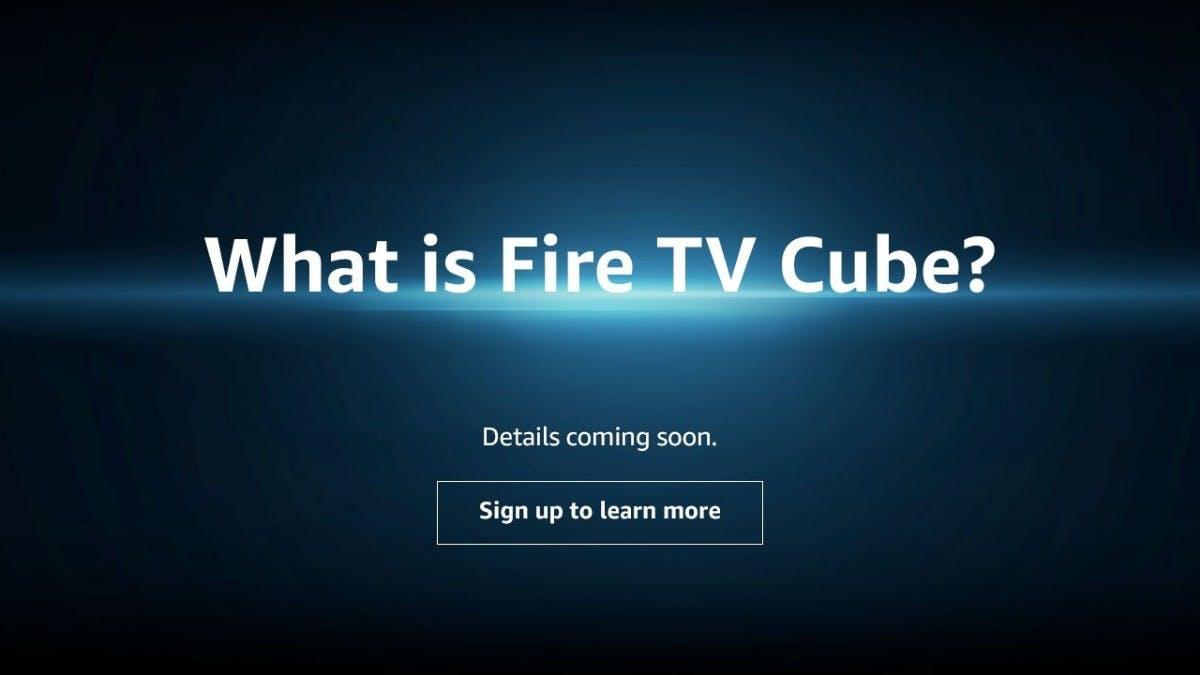 Fire TV Cube: Amazon lässt Videostreaming-Stick mit Echo und Alexa verschmelzen