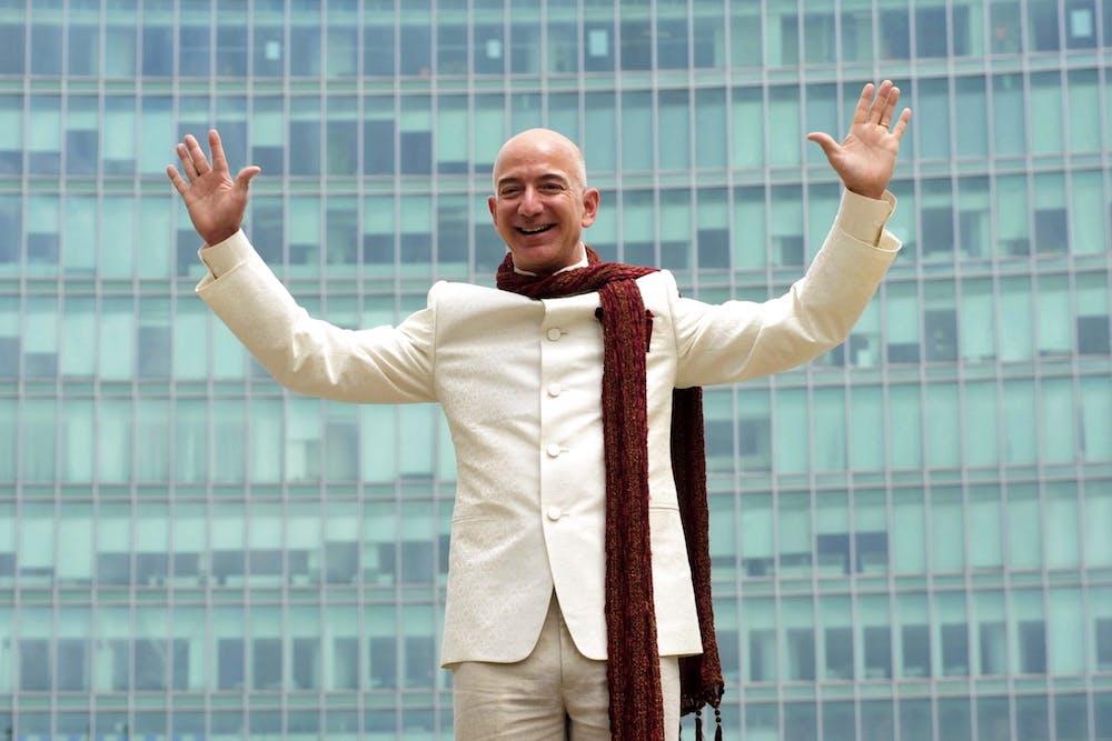 Jeff Bezos lässt den Amazon-Marktplatz jetzt von der Leine