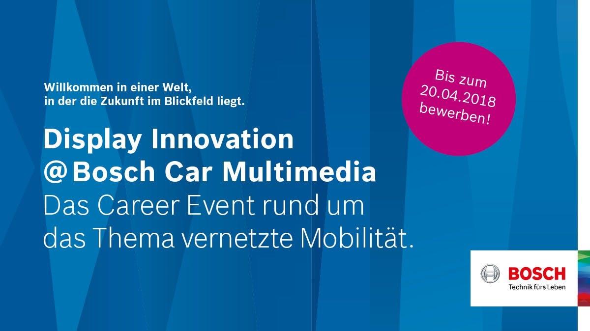 Karriere bei Bosch Car Multimedia: Dieses Event zeigt Perspektiven auf