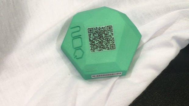 Die App startet den QR-Code-Scanner durch die Smartphone-Kamera. (Screenshot: No-Q/t3n.de)