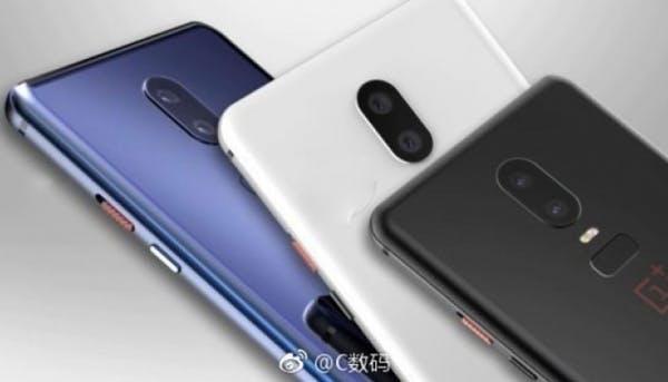 Das Oneplus 6 könnte in verschiedenen Farben erscheinen. (Bild: Weibo)