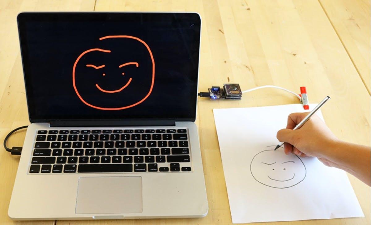 Papierblatt als Touchscreen: Forscher machen es einfach und günstig möglich