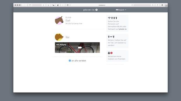 Airdrop-Konkurrenz: Plover macht Dateiaustausch übers Netzwerk einfach