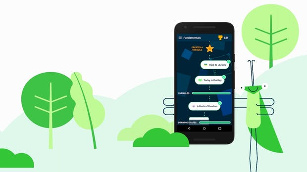Programmieren lernen mit Grasshopper: Neue Google-App nimmt Erwachsene an die Hand