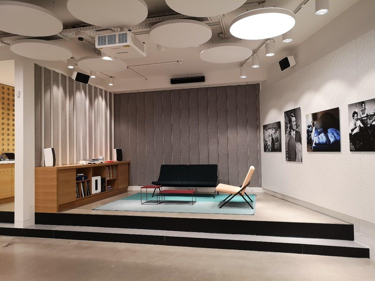 Der Sonos-Concept-Store in Berlin. (Foto: t3n.de)