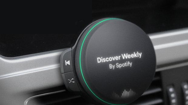 Dieses ungewöhnliche Gerät könnte das erste Hardware-Produkt von Spotify sein