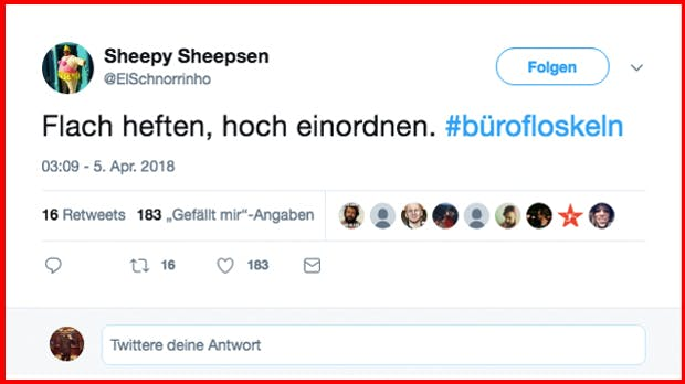 Twitter-Trend #Bürofloskeln: Die besten Tweets deutscher Office-Worker