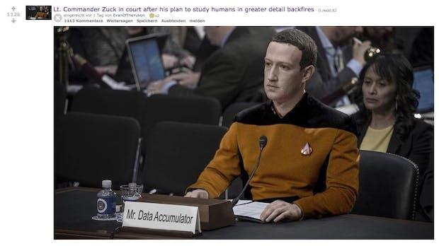 Die besten Tweets, Memes und Gifs zur Facebook-Anhörung