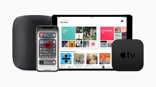 Airplay 2, Homepod-Stereopaare und mehr: Apple veröffentlicht iOS 11.4