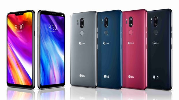 LG G7 Thinq ist offiziell: High-End-Android-Smartphone mit Google-Assistant-Button