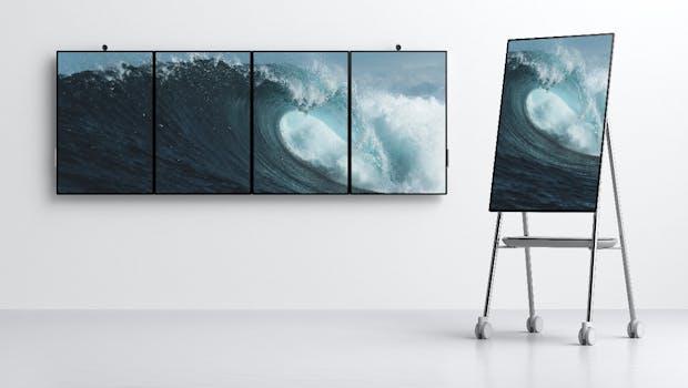Microsoft Surface Hub 2. (Bild: Microsoft)
