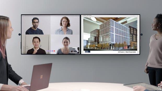 Surface Hub 2 ist da: Microsoft zeigt neue Version seines Konferenzsystems