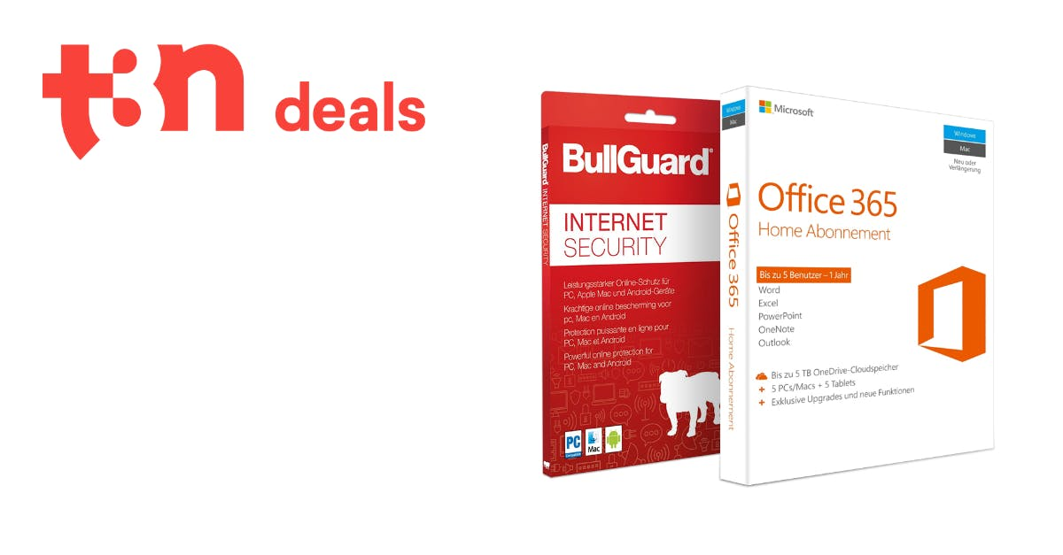 t3n-Deal des Tages: Microsoft-Office-365-Home inklusive Bullguard Internet Security heute für nur 49,99 Euro!