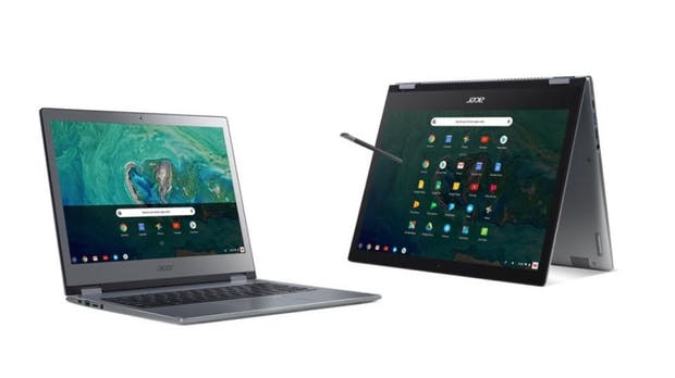 Chromebook 13 und Spin 13: Chrome-OS-Business-Notebooks im Metallgehäuse