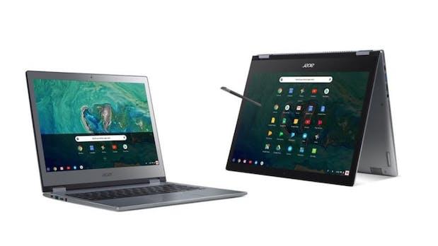 Chromebook 13 und Spin 13: Chrome-OS-Business-Notebooks im Metallgehäuse