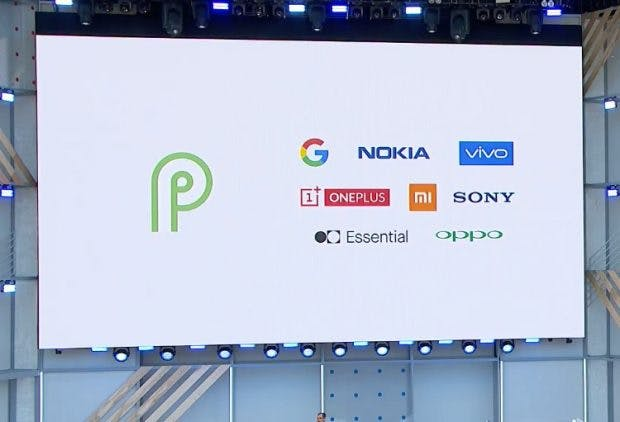 Alle Hardware-Partner für die Android-P-Beta. (Screenshot: Google)