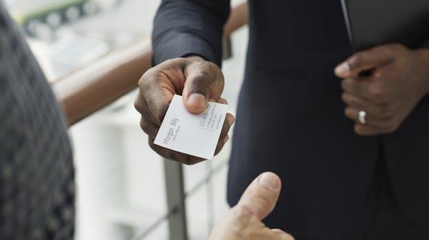 Dsgvo Jetzt Werden Sogar Visitenkarten Zum Datenschutz Problem