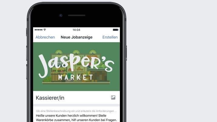 Stellenjagd auf Facebook: Soziales Netzwerk bringt Jobbörse nach Deutschland