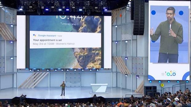 Googles KI klingt am Telefon wie ein Mensch – und kann Termine vereinbaren