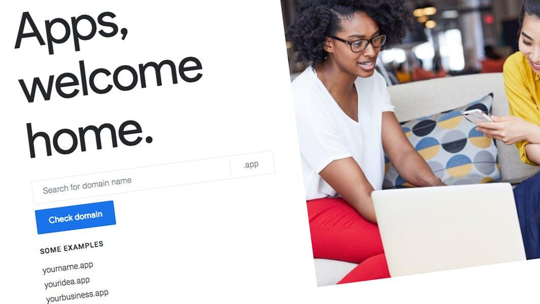 Google stellt .app-Domain für Web-Apps vor