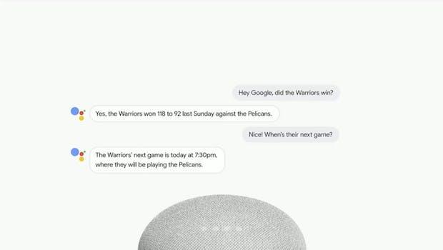 "Dank des neuen Features ""Continued Conversations"" müsst ihr bald weniger ""Okay Google"" sagen. (Screenshot: t3n.de)"