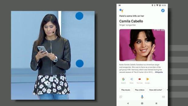 Neue Optik im Google Assistant auf Smartphones. (Screenshot: t3n.de)