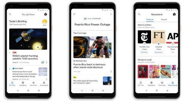 Künstliche Intelligenz hat auch immer häufiger Einfluss auf unseren Alltag. Auch Google News setzt setzt jetzt auf KI. (Screenshot: Google)