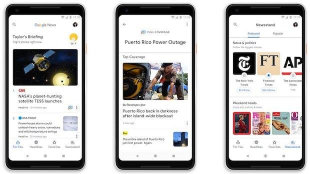 Google News setzt jetzt auf künstliche Intelligenz