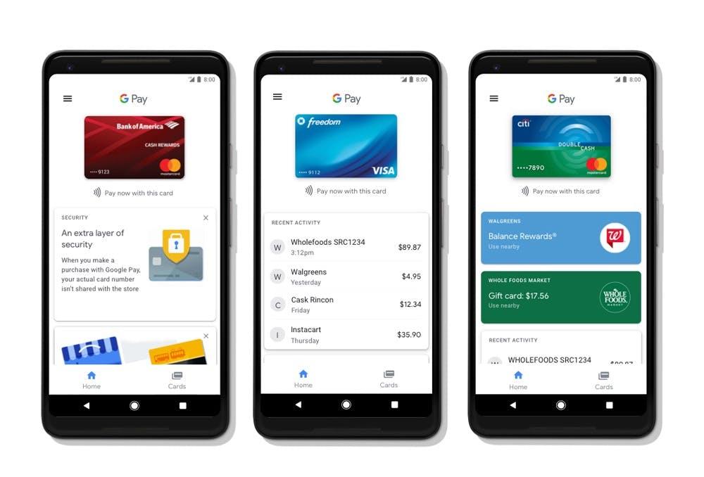 Google Pay in Deutschland. (Bild: Google)