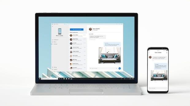 Windows-Nutzer können künftig am Desktop über ihr Android-Smartphone telefonieren
