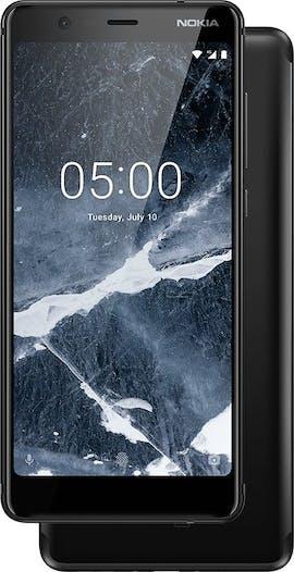 Nokia 5.1 in Schwarz. (Bild: HMD Global)