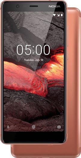 Nokia 5.1 in Kupfer. (Bild: HMD Global)