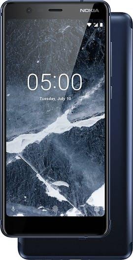Nokia 5.1 in Blau. (Bild: HMD Global)
