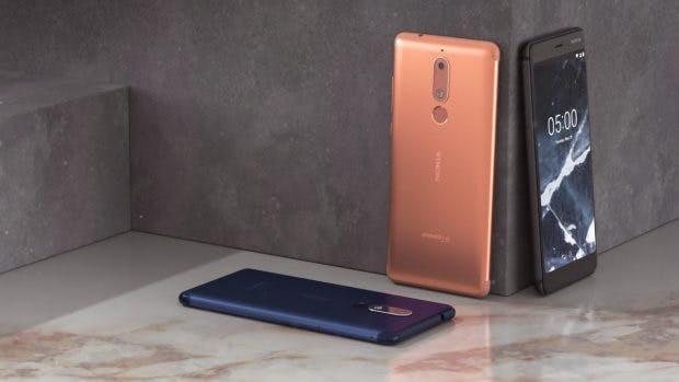 Nokia 5.1. (Bild. HMD Global)