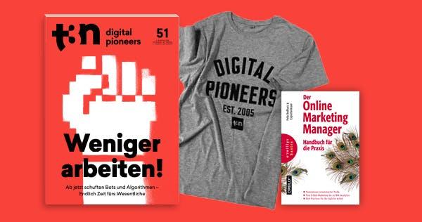 """Nur 30x: O'Reilly-Fachbuch """"Der Online Marketing Manager"""" gratis zum t3n-Abo"""