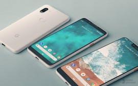 Mockup des Pixel 3 und 3 XL basierend auf einem Leak – die Rückseite hat der Designer nach eigenem Geschmack entworfen. (Bild: Phone Designer)