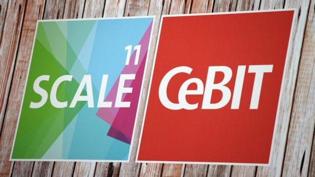 Scale11: Der Startup-Bereich auf der Cebit 2018. (Foto: Cebit)