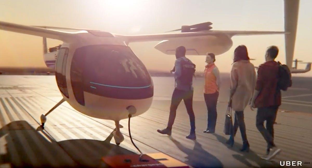 Lufttaxi von Uber soll 2023 seinen Dienst aufnehmen