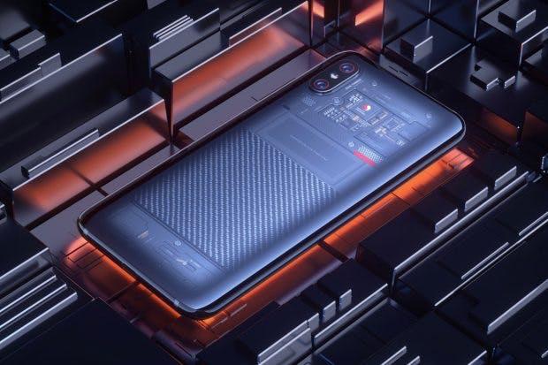 Xiaomi MI 8 Explorer Edition mit transparenter Rückseite. (Bild: Xiaomi)