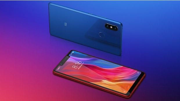 Xiaomi Mi 8. (Bild: Xiaomi)