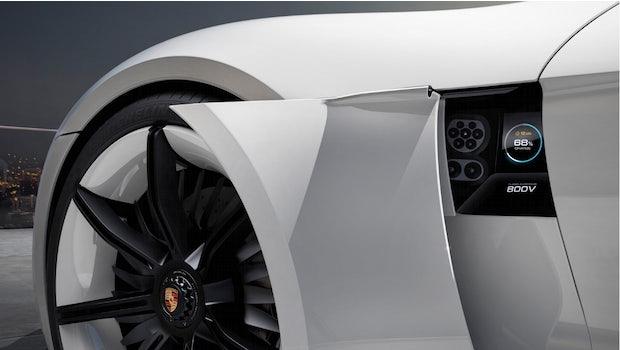 Porsche Taycan. (Bild: Porsche)