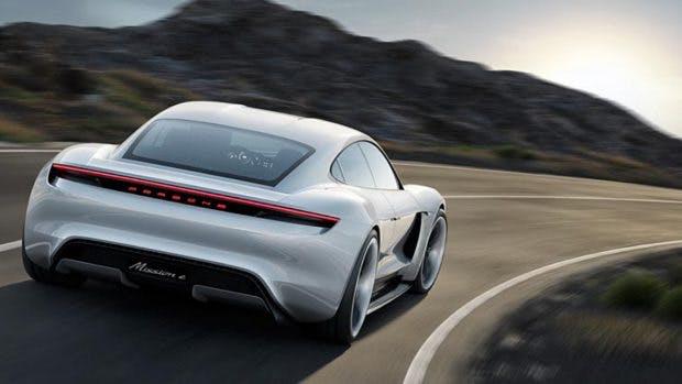 Aus Porsche Mission E wird Taycan. (Bild: Porsche)