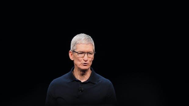 Apple-Chef Tim Cook: Der Datenhunger könnte die Meinungsfreiheit bedrohen