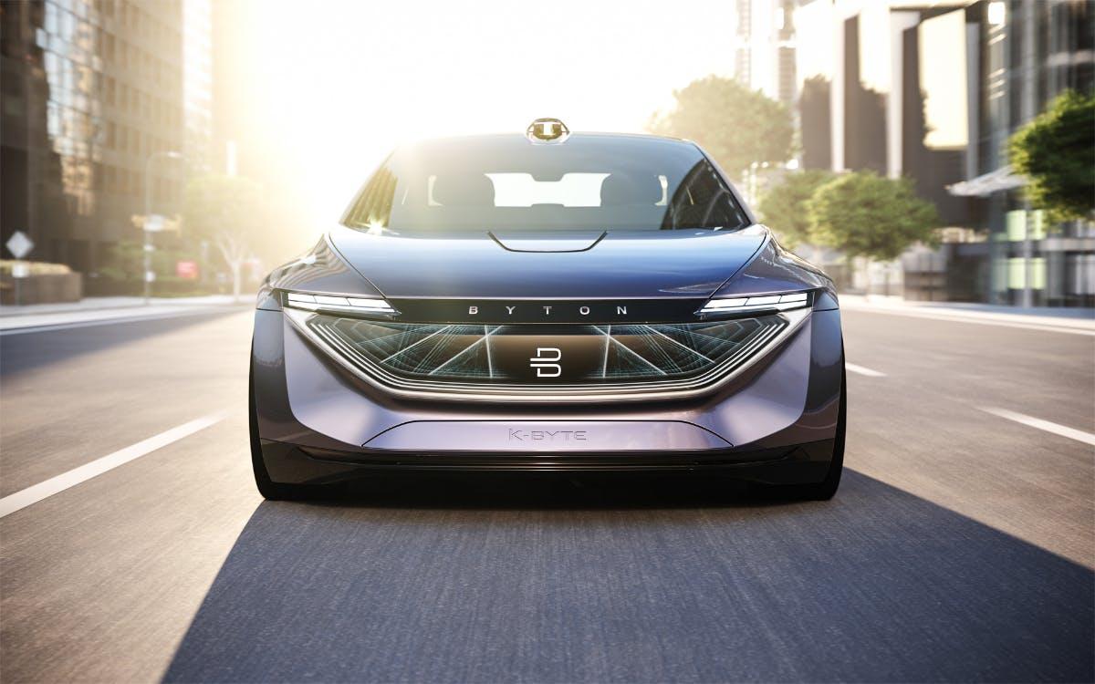 K-Byte: Byton zeigt Elektro-Luxus-Limousine mit Autonomie im Fokus