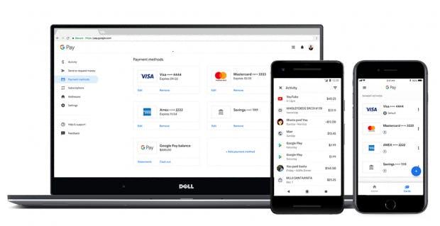 Google Pay gibt es für Smartphones und den Desktop. (Bild: Google)