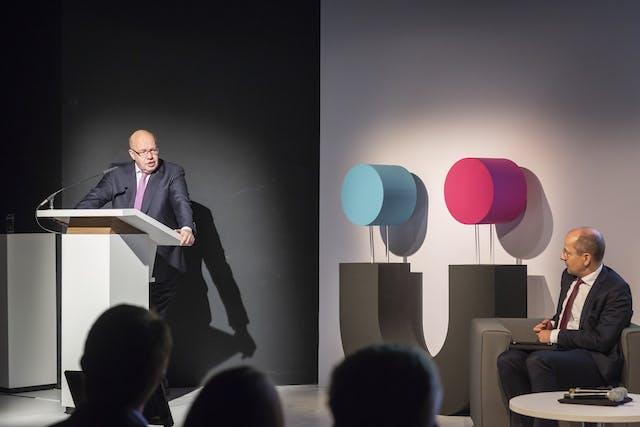 Präsentation der Gründerplattform mit Bundeswirtschaftsminister Peter Altmeier