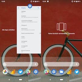 In Android 9.0 P lassenn sich nun wieder alle Apps mit einem Tap beenden. (Bild: t3n.de)